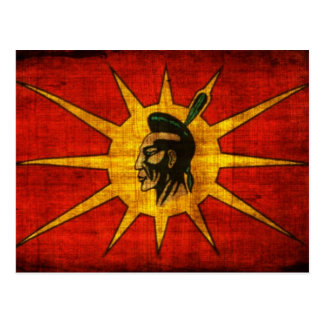 Mohawk People Flag Postcard