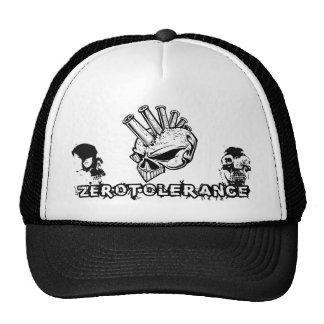 Mohawk Skull Zero Tolerance Trucker Hat