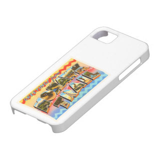Mohawk Trail Massachusetts MA Old Travel Souvenir iPhone 5 Cases