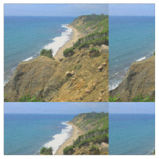 Mohegan Bluffs Block Island 2 Fabric