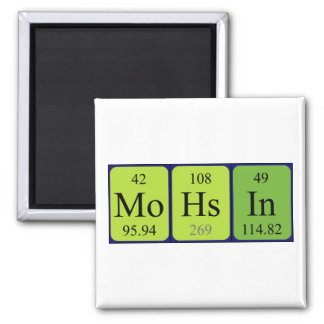 Mohsin periodic table name magnet