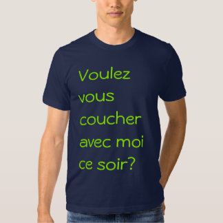 Moi d'avec de coucher de Voulez-vous T Shirts