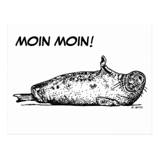 MOIN MOIN! POSTCARD