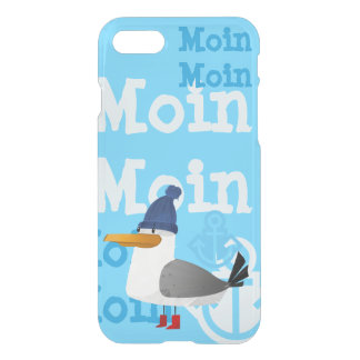 """Moin Moin"" Seagull iPhone 8/7 Case"