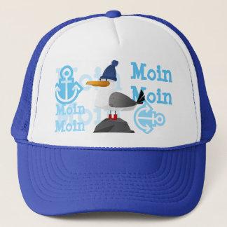 """Moin Moin"" Seagull Trucker Hat"
