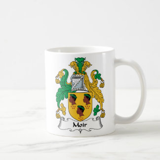 Moir Family Crest Coffee Mug