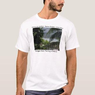 Moira at anchor, Bahia Drake, Coast Rica T-Shirt