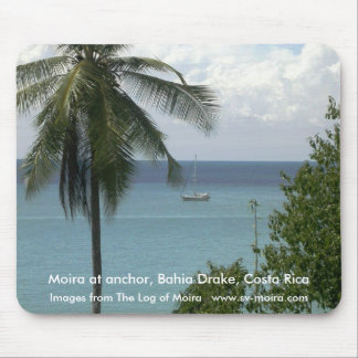 Moira at anchor, Bahia Drake, Costa Rica Mouse Pad