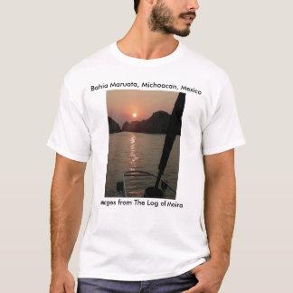 Moira at anchor, Bahia Maruata, Michoacan, Mexico T-Shirt