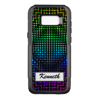 Moire Checkers by Kenneth Yoncich OtterBox Commuter Samsung Galaxy S8+ Case