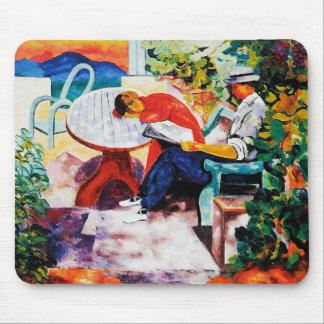 "Moïse Kisling, ""La Sieste in Saint-Tropez"" Mouse Pad"