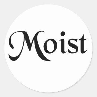 Moist Sticker