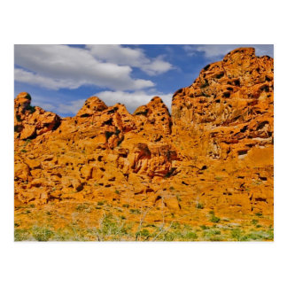 Mojave Desert Red Rock Postcard