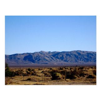 Mojave Morning Postcard