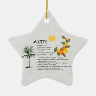 Mojito Ceramic Ornament