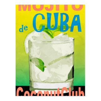 Mojito De Cuba Postcard
