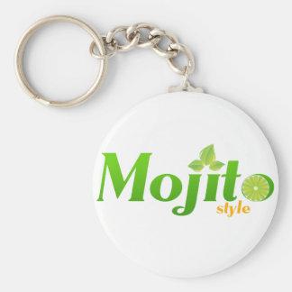 Mojito Style Keychain