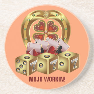 Mojo Fast Luck Beverage Coaster