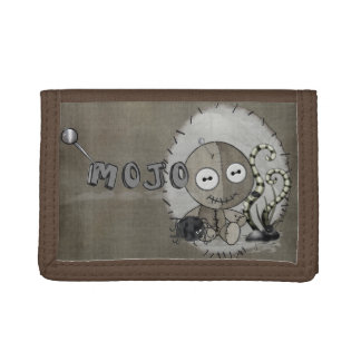 MOJO Gothic Voodoo Doll Trifold Wallets