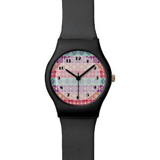 Mojo Hipster Aztec Pattern Watch