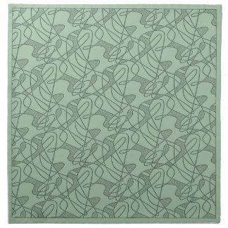 MoJo Napkin Set Of 4 : CONTEMPO - SEAFOAM GREEN
