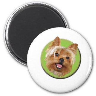 Moka Bob 2 Inch Round Magnet
