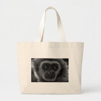 mokey large tote bag