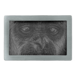 mokey rectangular belt buckle