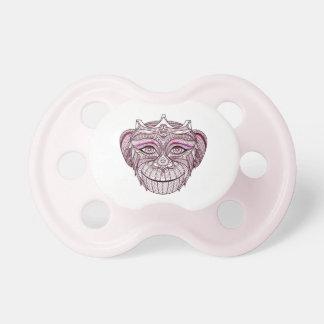 Mokey's Head 1 Baby Pacifiers