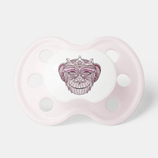 Mokey's Head 1 Pacifier