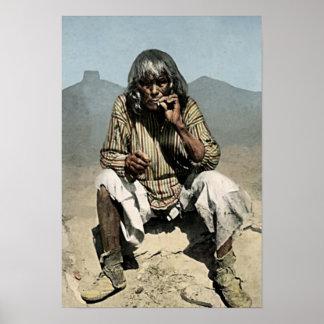 Moki Native American Poster