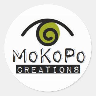 MoKoPo Creations Round Stickers