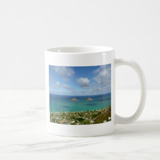 Moks off the shore of Lanikai Coffee Mug