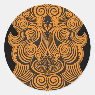 Moku Round Sticker