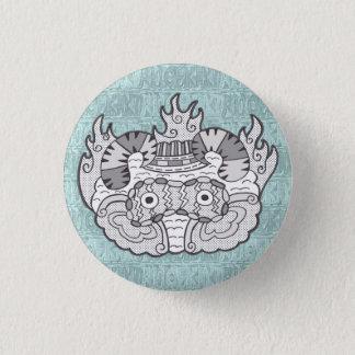 MOKUMOKU (growing impudent heaven ver) 1 Inch Round Button