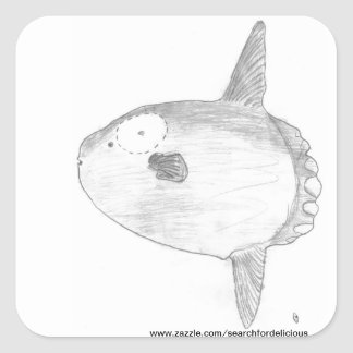 Mola Mola Sticker