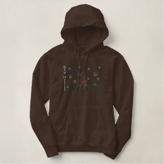 Mola Red Heeler Embroidered Hoodie
