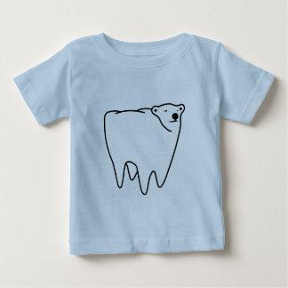 Molar Bear Polar Tooth Bear Baby T-Shirt
