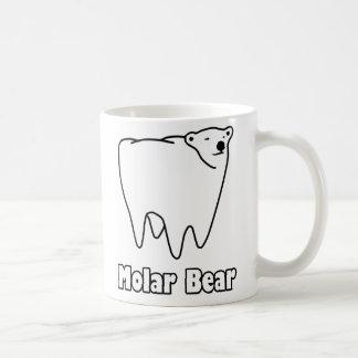 Molar Bear Polar Tooth Bear Basic White Mug