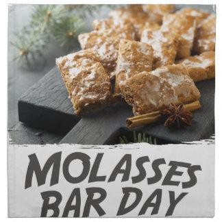 Molasses Bar Day - Appreciation Day Napkin
