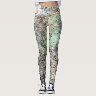 Mold marble leggings acuteblaze abstract design