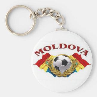 moldova2 basic round button keychain