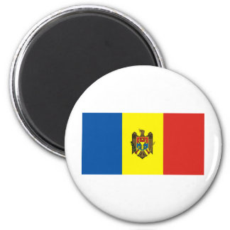 Moldova 2 Inch Round Magnet