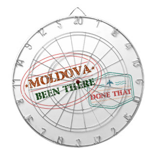 Moldova Been There Done That Dartboard