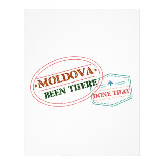Moldova Been There Done That Letterhead