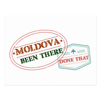 Moldova Been There Done That Postcard