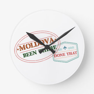 Moldova Been There Done That Round Clock