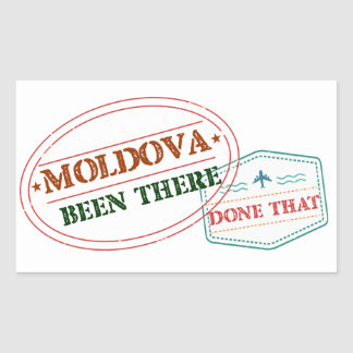 Moldova Been There Done That Sticker
