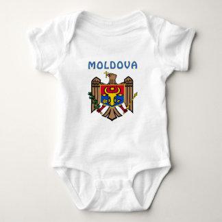 MOLDOVA Coat Of Arms Baby Bodysuit