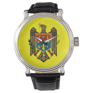 Moldova country flag nation symbol republic watch